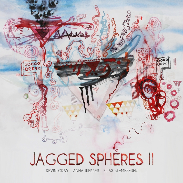Jagged Spheres II, cover painti - kobaia-design | ello
