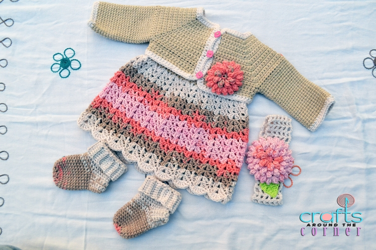 Nude Colours baby dress months - craftsaroundthecorner | ello