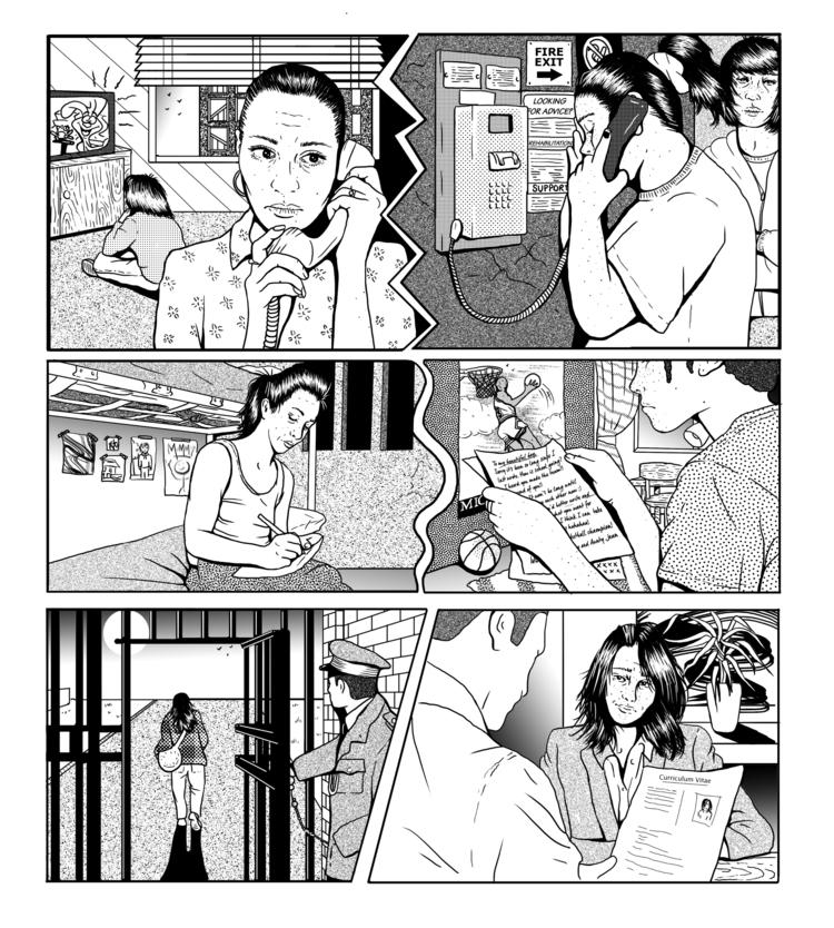 Full page comic DOPE Magazine  - catsims   ello