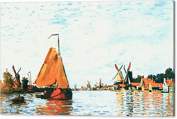 Claude Monet - Zaan Zaandam Can - pixbreak | ello