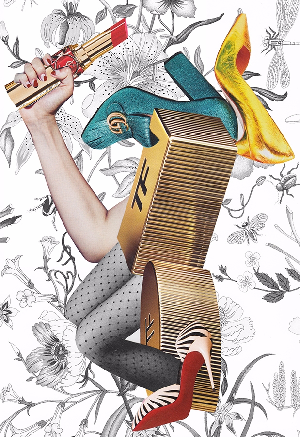 collage, handmade, fashion, gucci - itslucamainini | ello