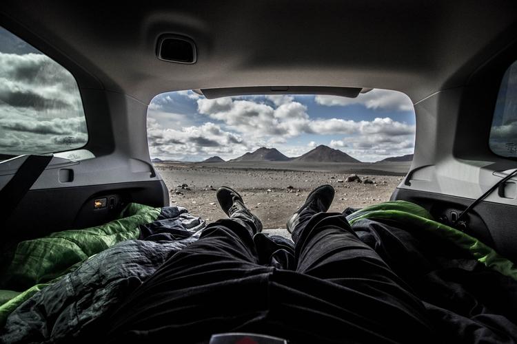 Woke - iceland, camper, photography - joanvillalon | ello