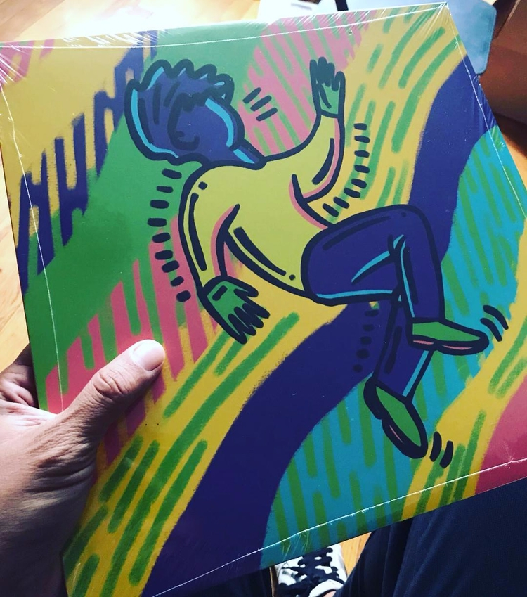 4 songs Poirier Alright vinyl  - poirier   ello