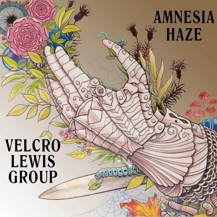 Velcro Lewis Group lp 'Amnesia  - safetymeetingrecords | ello