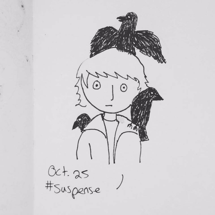 day 25 prompt pay homage - Inktober - emilynettie | ello