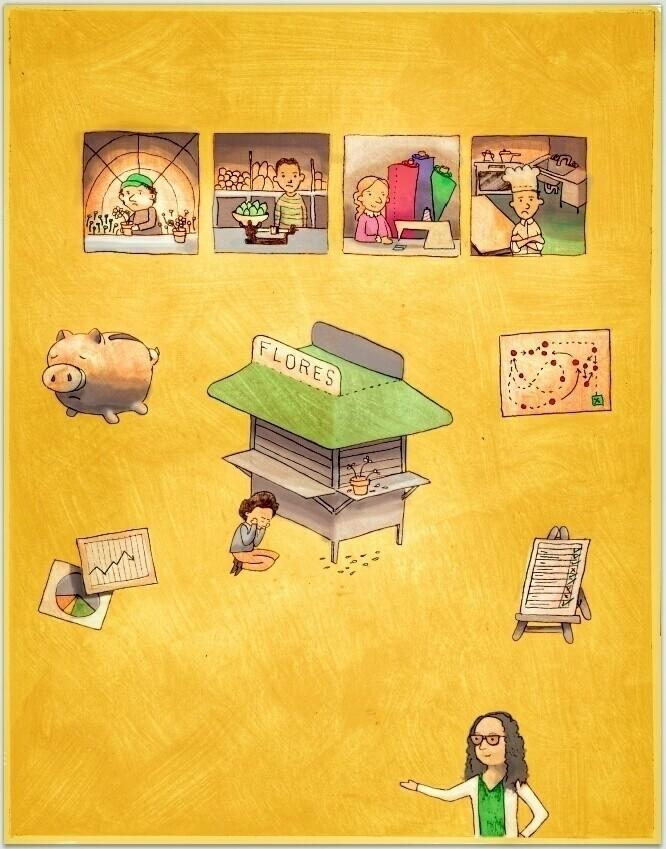 PyMEs Fracaso - ilustración, illustration - jorge_montero | ello