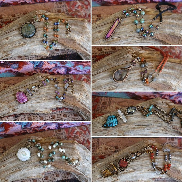 necklaces earrings listed shop - moongoddessvibes | ello