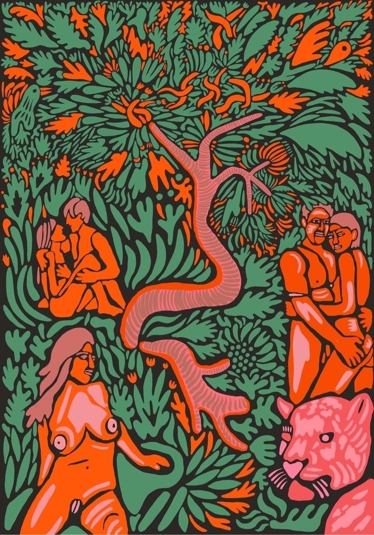 Featured Piece: night tree. wor - marginalink | ello