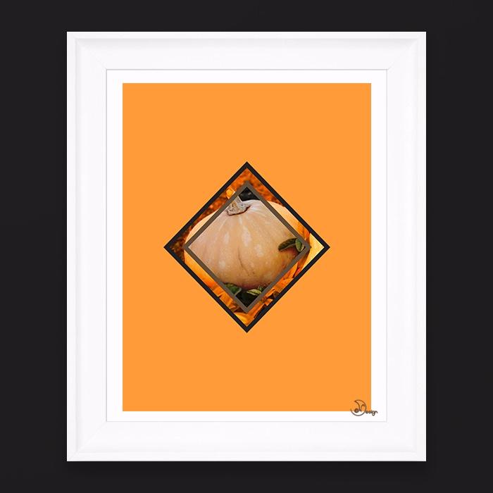 Orange Time Minimal composition - designdn | ello