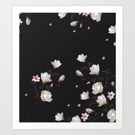 MAGNOLIA BRANCH Art lostanaw - magnolias - lostanaw | ello
