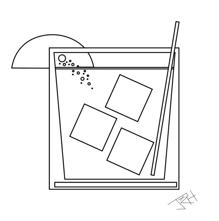 cocktail, graphicdesign, illustration - jhoxx | ello