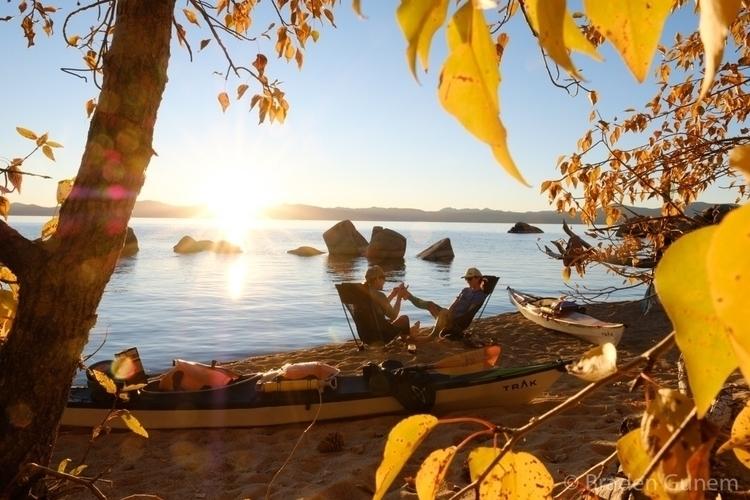 fall lake - tahoe, kayaking, fujifilm - bradengunem | ello
