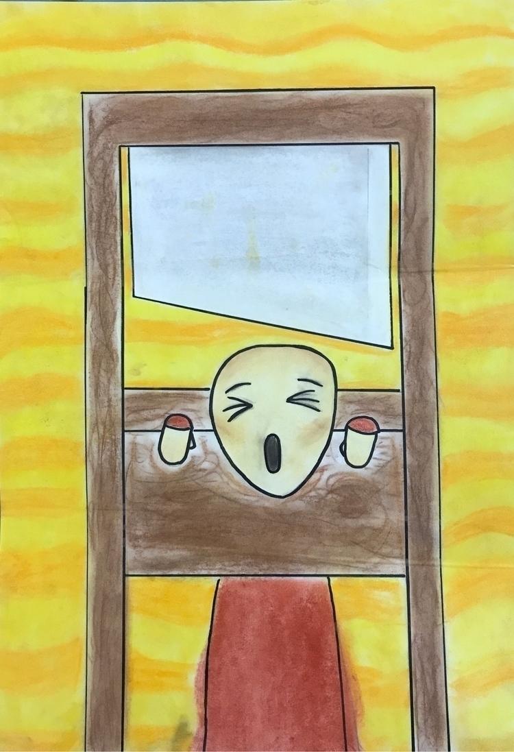 Drawing daughter inspired Edvar - asera | ello