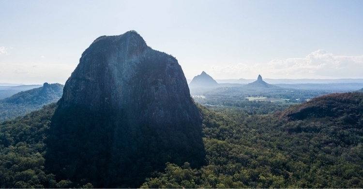 lost Glass House Mountains time - zachudson | ello