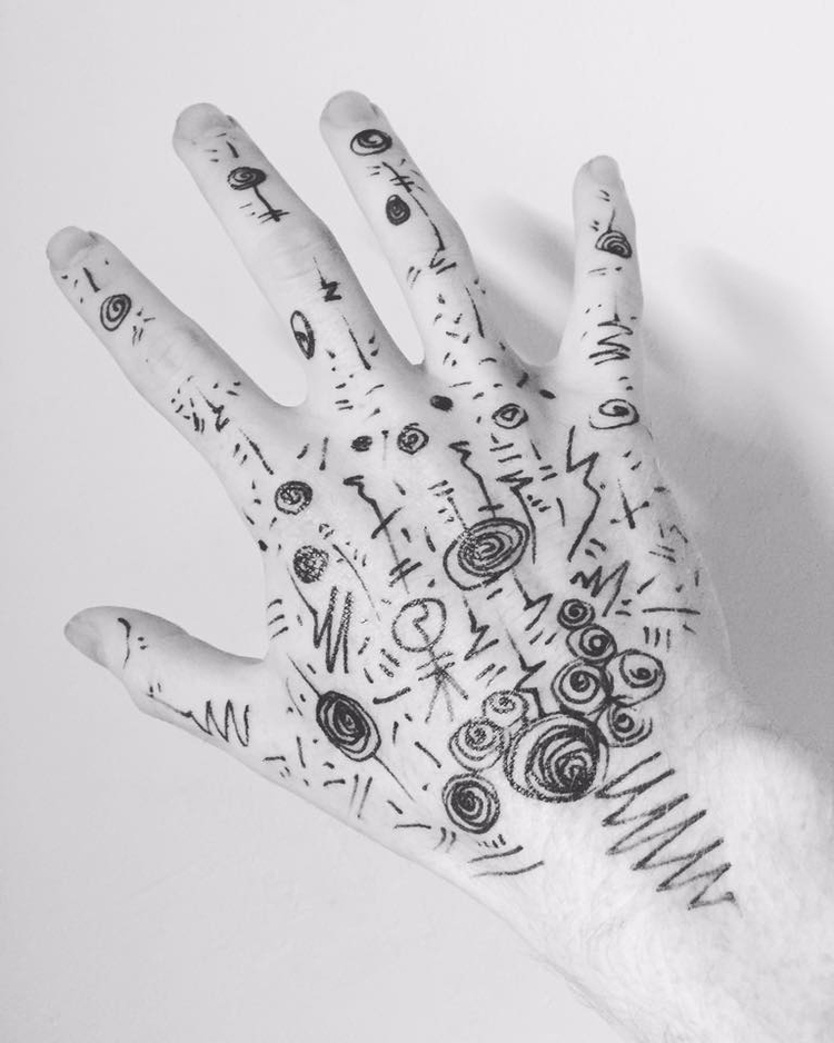 Visual Art 'hand' !!! Submitted - reepsone | ello