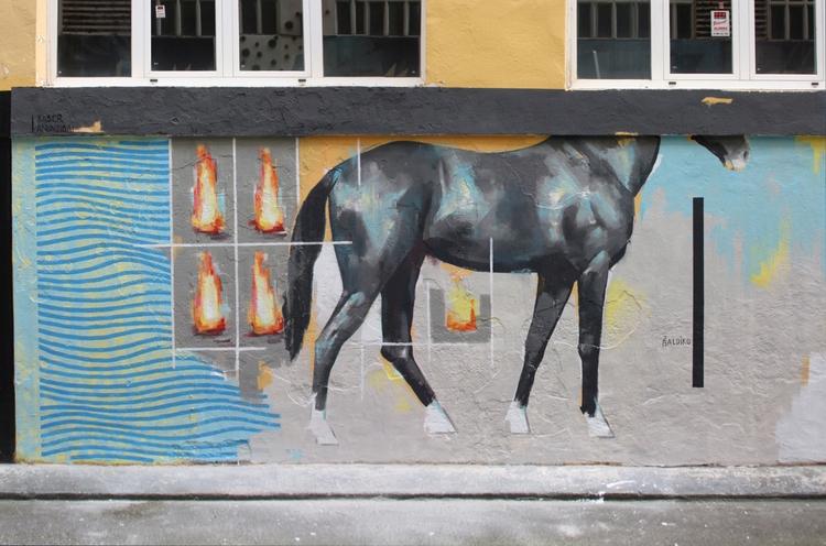 Zaldiko maldiko / horse figure  - xabieranunzibai | ello