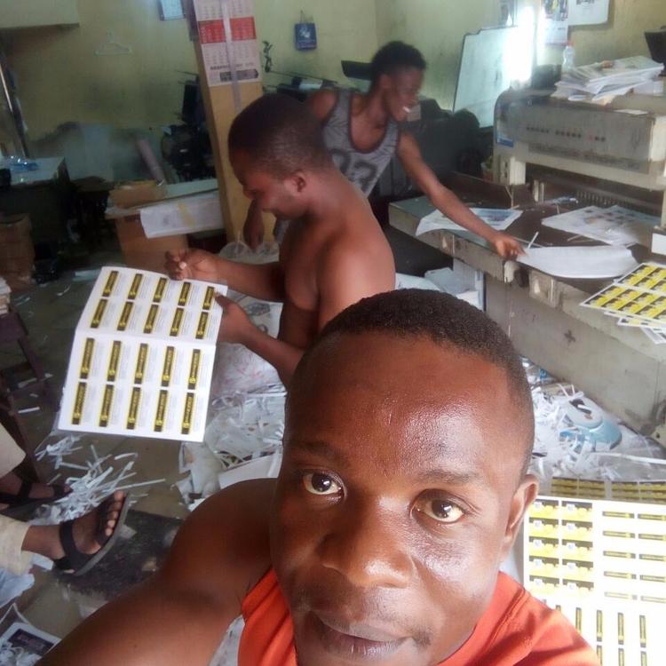 print work Nigeria, call cards  - cfofresh | ello
