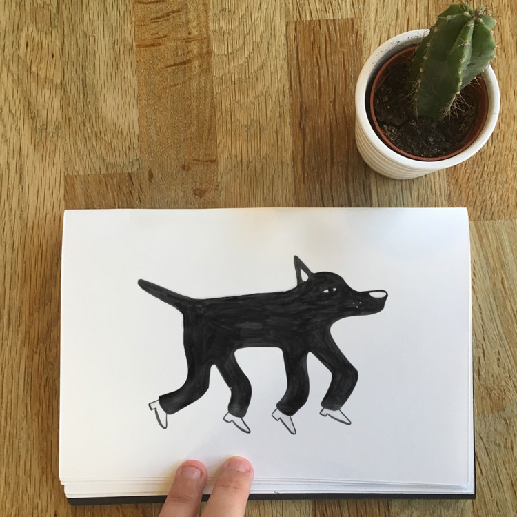 dog dreaming - colmcelwaine | ello