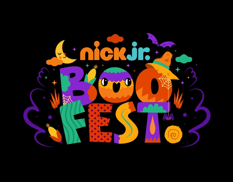 Title treatment Nick Jr. Boo Fe - muxxi | ello