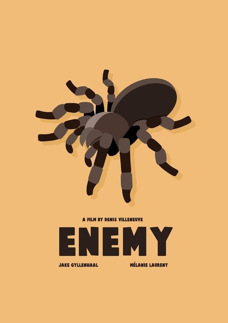 enemy, movieposter, enemymovie - thebdesign | ello