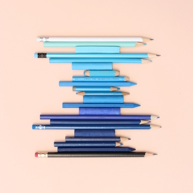 Blue pencils - caroline_south | ello