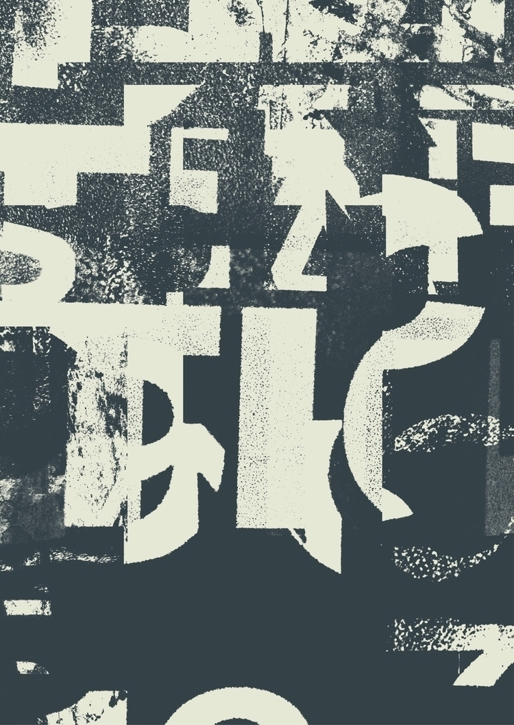typefart, typography, abstract - typefart | ello