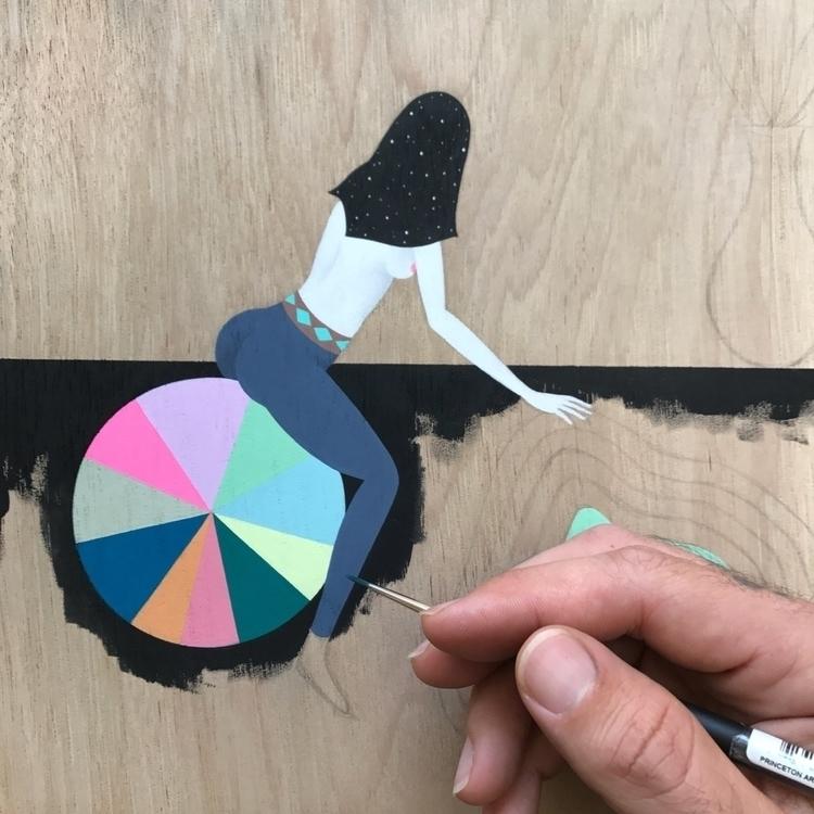 Making progress - painting, elloart - adrianlandonbrooks | ello