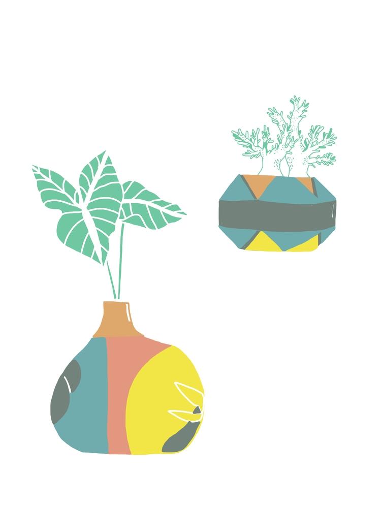 Ceramic Sketches - rymie, illustration - rymie | ello