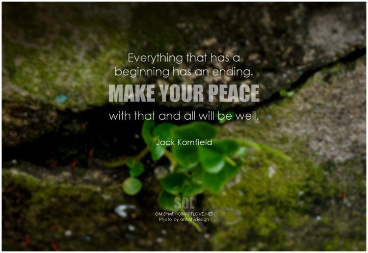 beginning peace quotes Jack Kor - symphonyoflove | ello