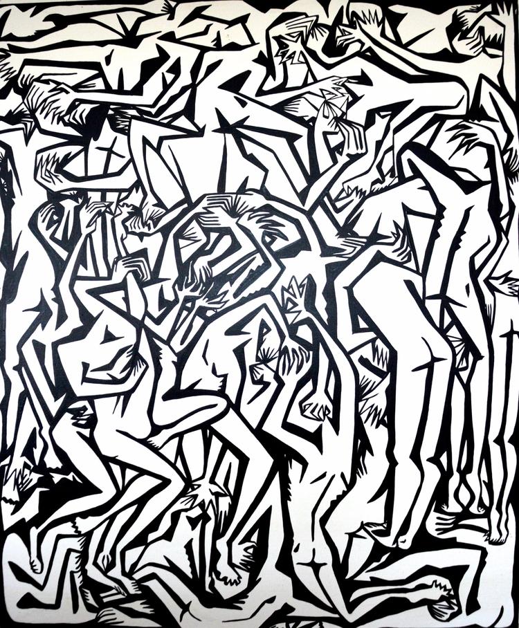 work arises explores realm huma - matlakas | ello