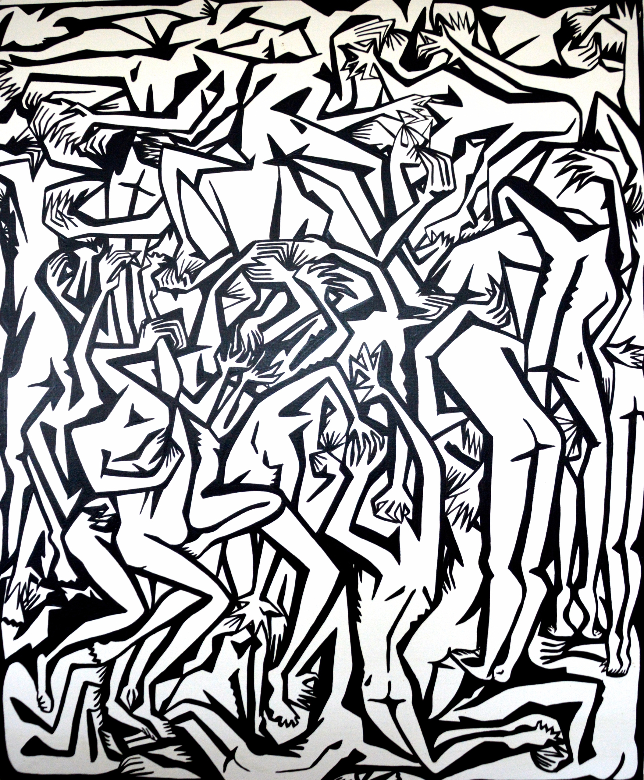 work arises explores realm huma - matlakas   ello
