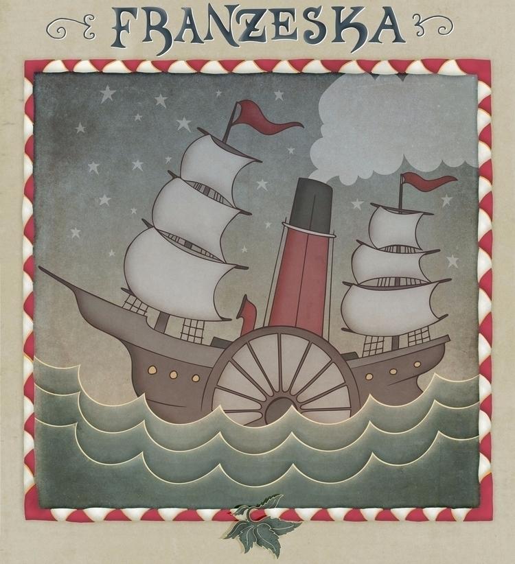 Emperor Norton Steamship Franze - johnjgriffiths | ello