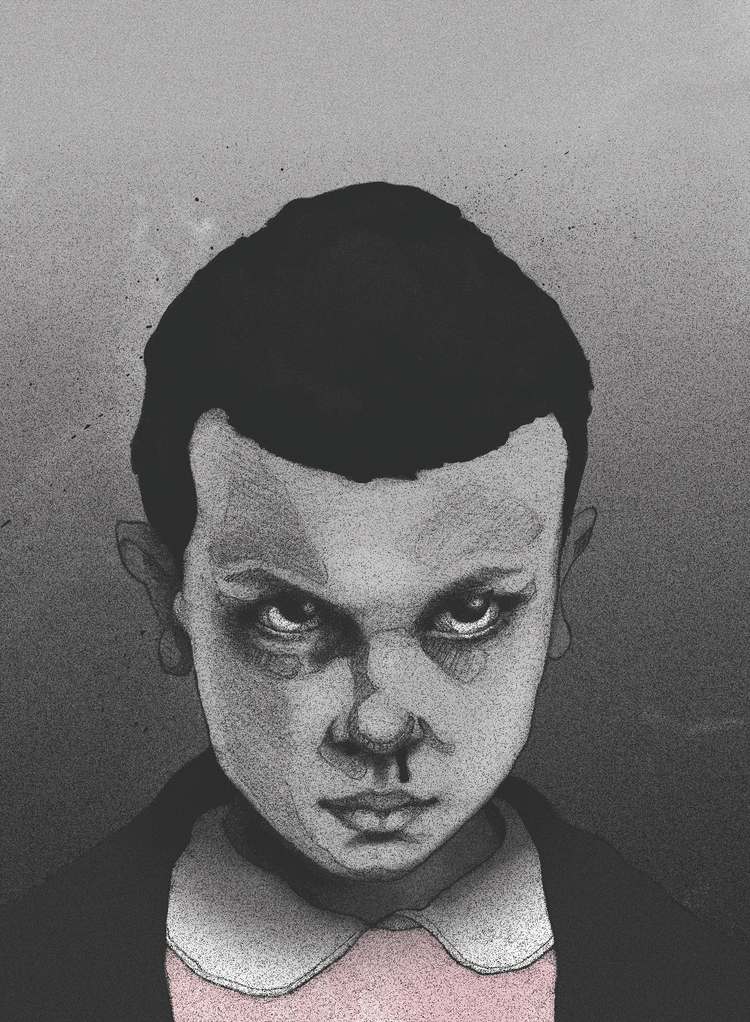 Eleven - illustration, handdrawn - heyambermorgan | ello