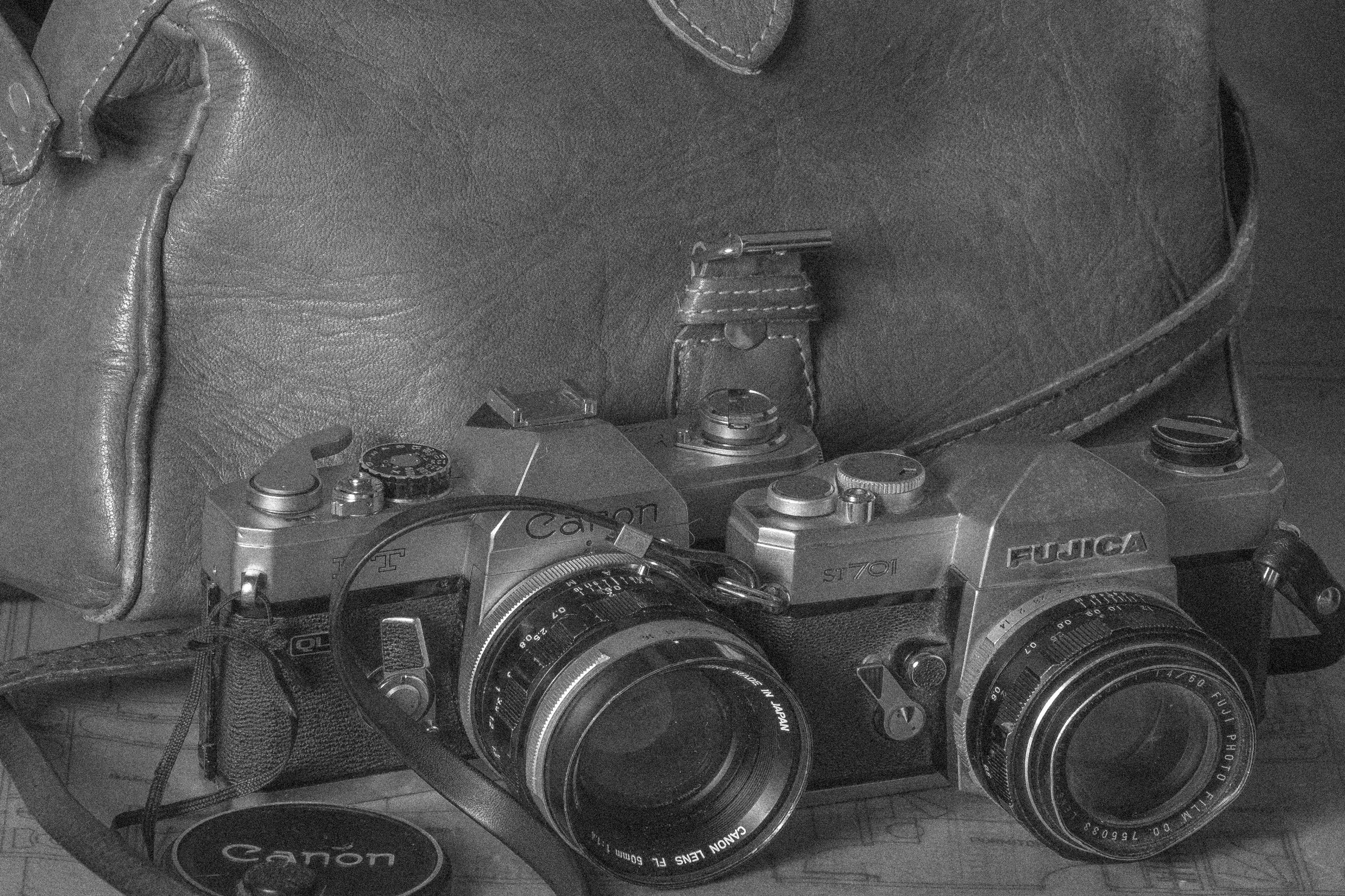 retro, camera, canon, fujica - dalwenphotography | ello