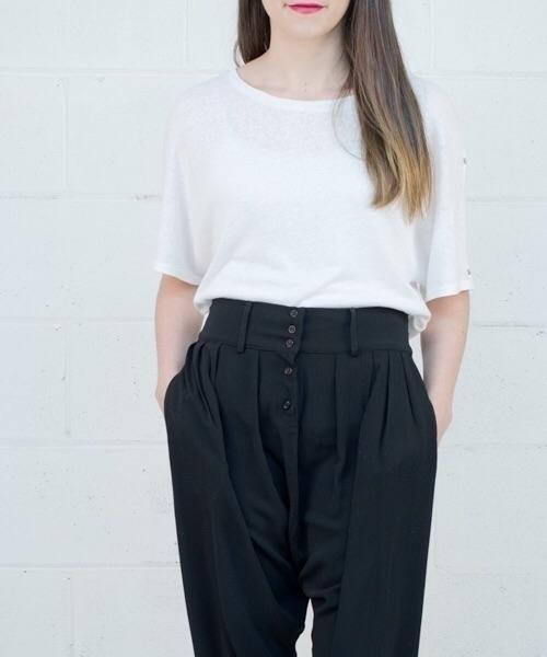• ! Kenzy - shop online - pants - canonblanc | ello