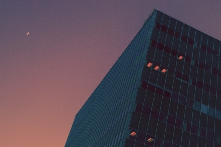 urban sunset - architecture, minimalism - kylie_hazzard_visuals | ello