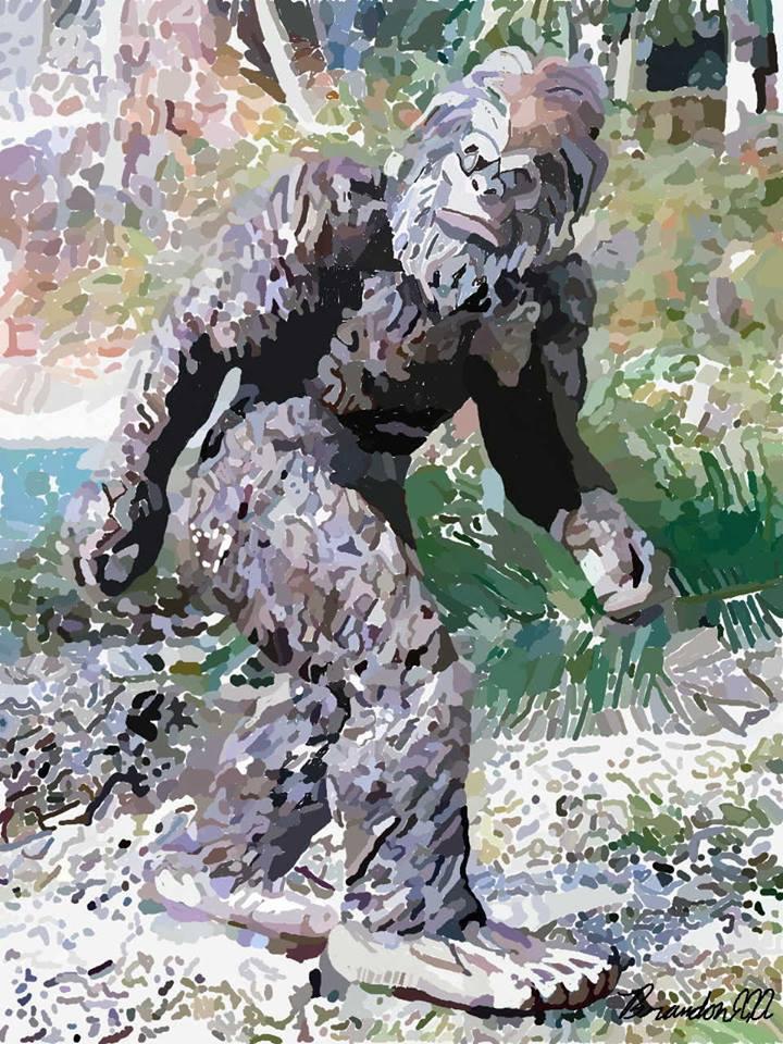 Bigfoot - brandon_omega-x | ello