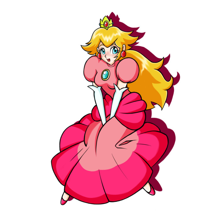 Princess Peach. 2017 sale - art - lewdatic | ello