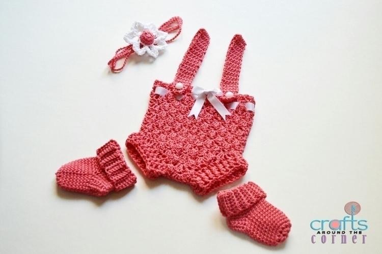 months baby girl set coral. Sum - craftsaroundthecorner | ello