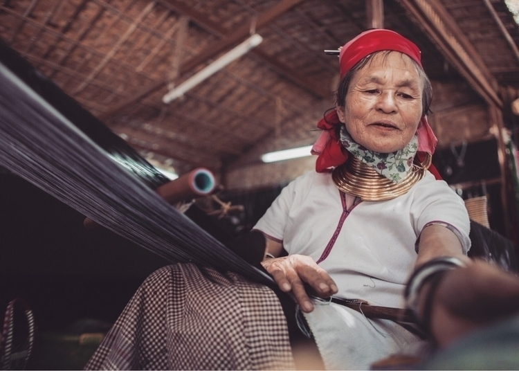 Kayan people Myanmar wear rings - presbanproductions | ello