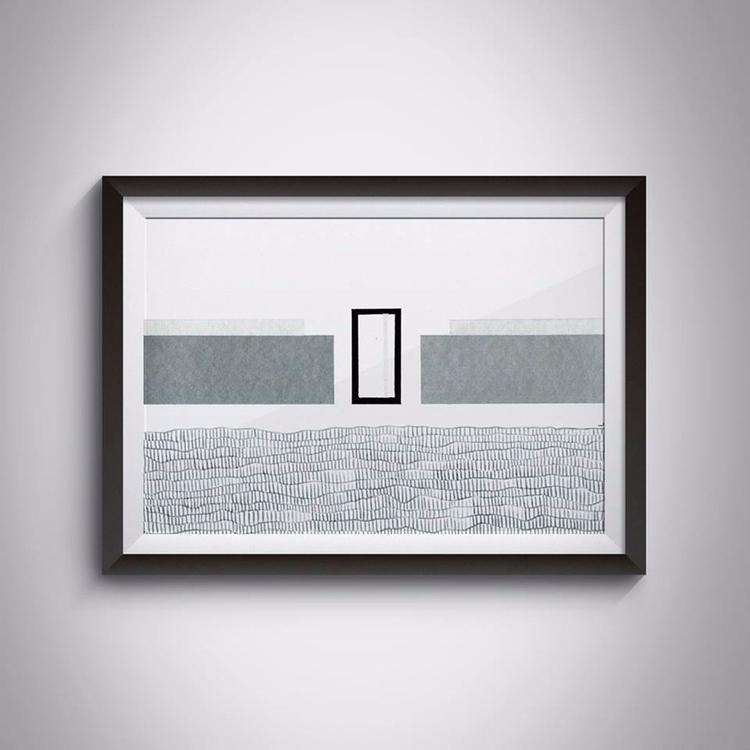 _Architecture, 29,7x21 cm, acry - ilobahie | ello