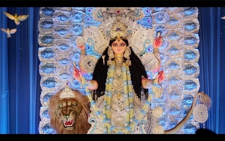 Making Chandannagar Jagadhatri  - isukantapal | ello