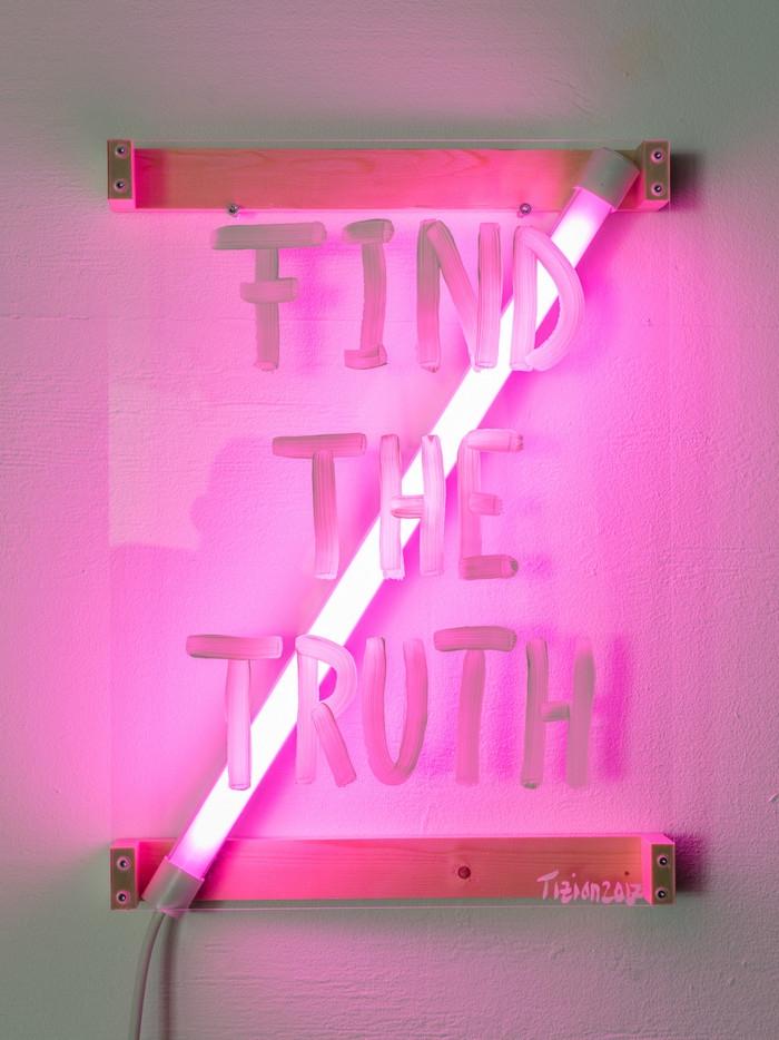 Find Truth, 2017, 39x53x8cm - tizianbaldinger - tizianbaldinger | ello