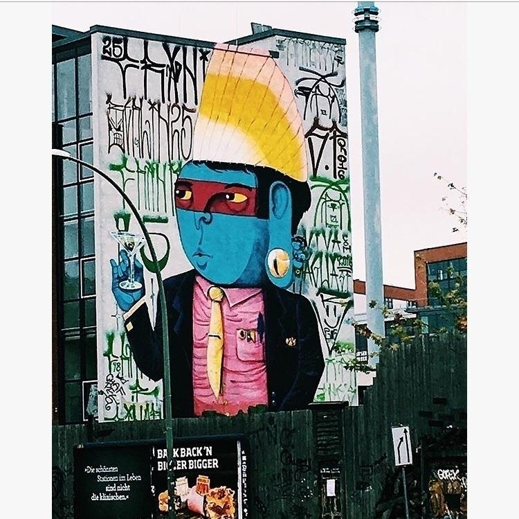 Repost - berlin, artoftheday, artwork - bitfactory | ello
