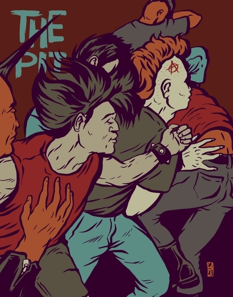 Pit - illustration - thomcat23 | ello