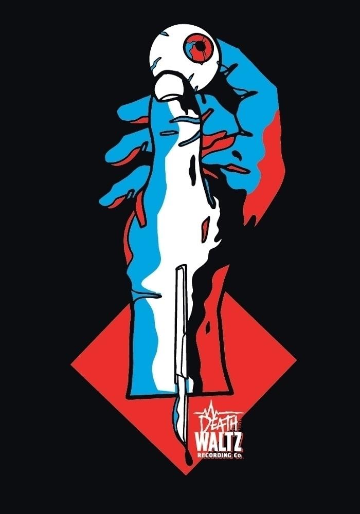 Tshirt design Bleep Deathwaltz  - webuyyourkids | ello