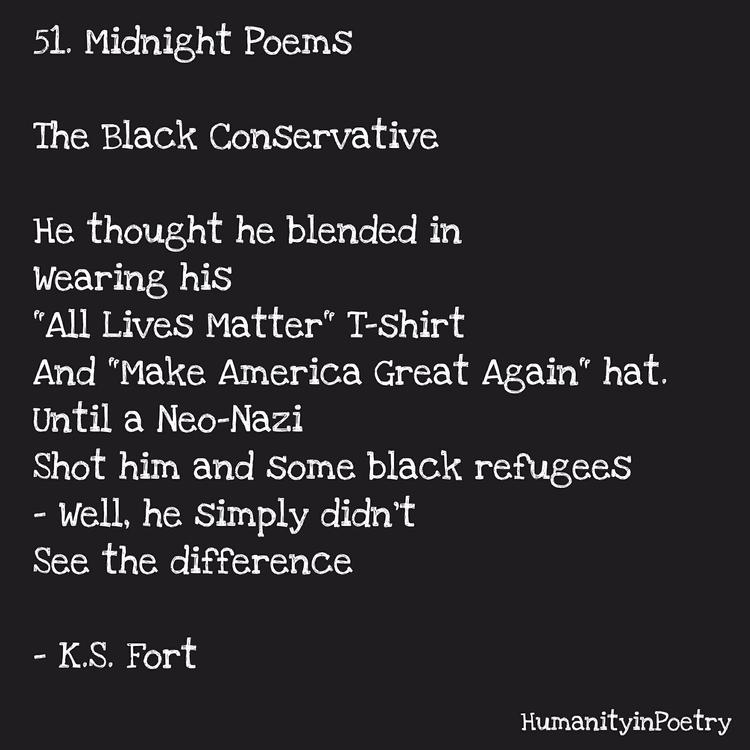 "Link Poem, "" Black Conservative - humanityinpoetry | ello"