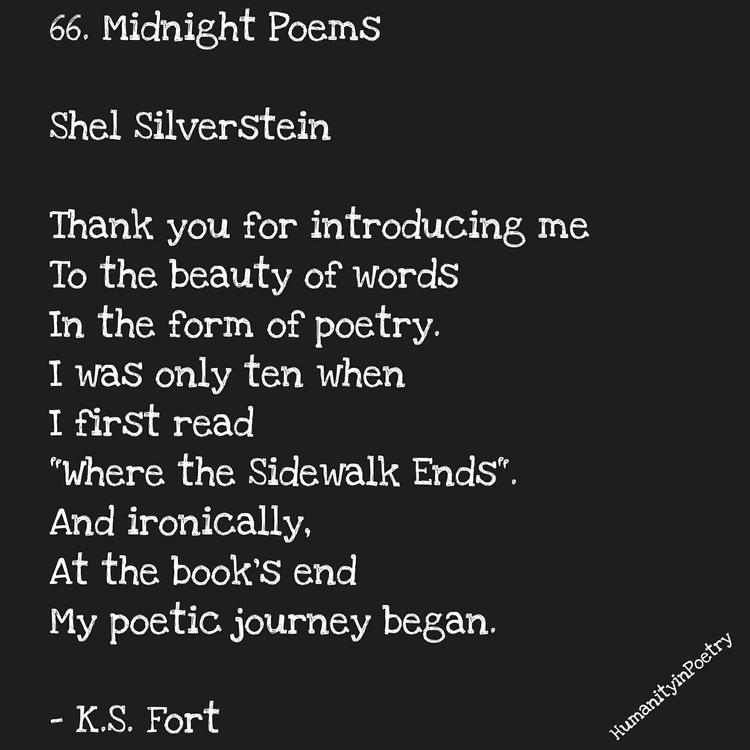 "Link Poem, "" Shel Silverstein  - humanityinpoetry | ello"
