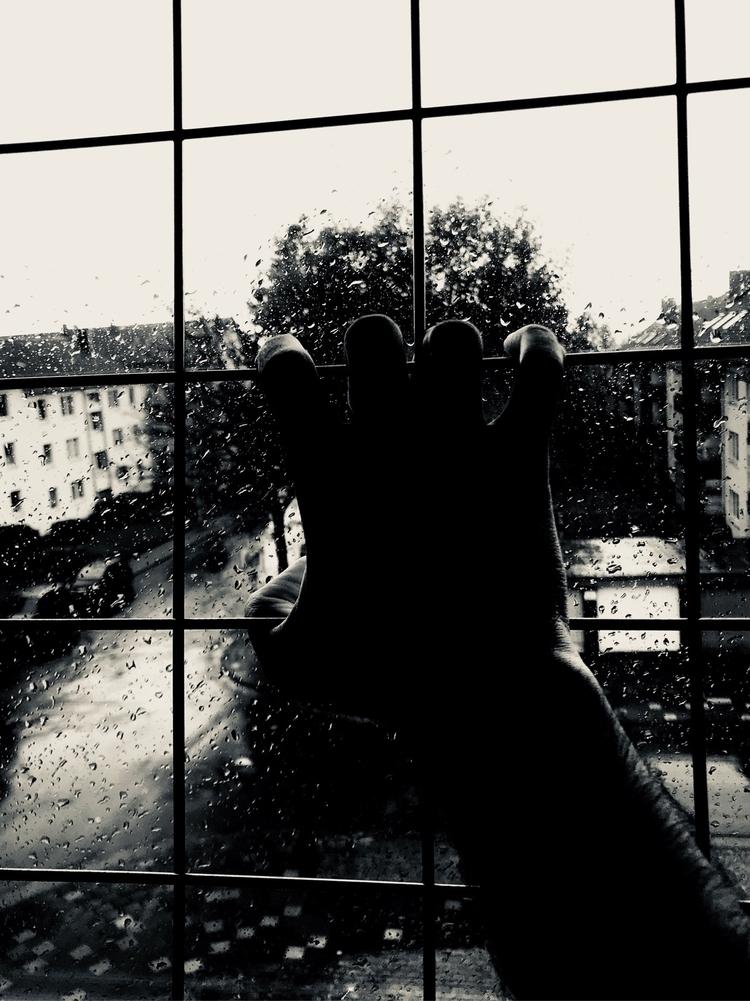 smartphonepics, grid, rain, window - rafael_drumond | ello
