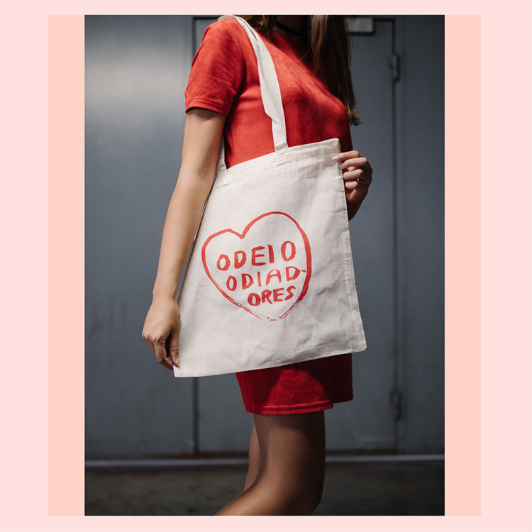 odeio odiadores // tote bag - illustration - anotherangelo | ello